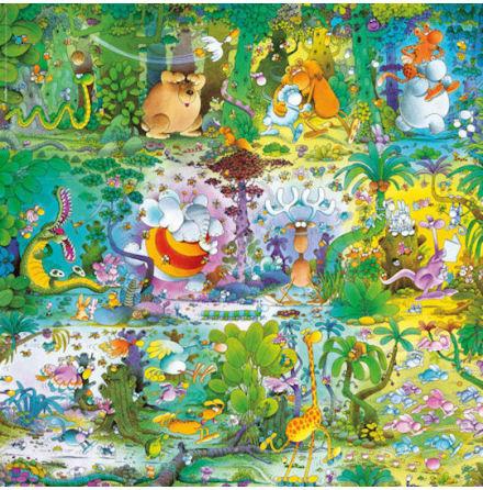 Mordillo: Wildlife (1000 pieces square)