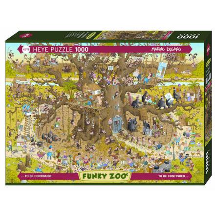 Funky Zoo: Monkey Habitat (1000 pieces)