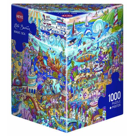 Berman: Magic Sea (1000 pieces triangular box)