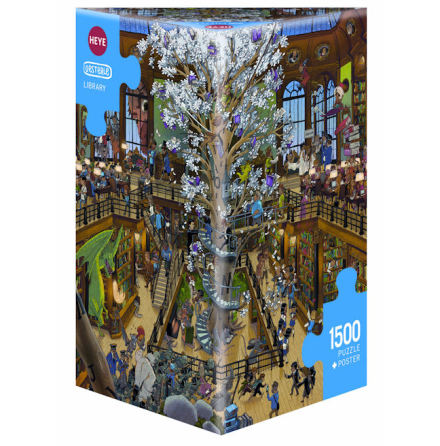 Oesterle: Library (1500 pieces triangular box)