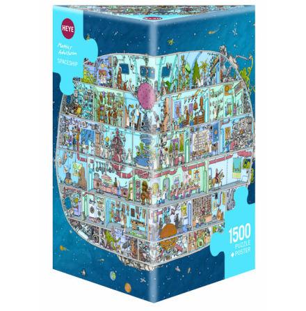 Adolfsson: Spaceship (1500 pieces triangular box)