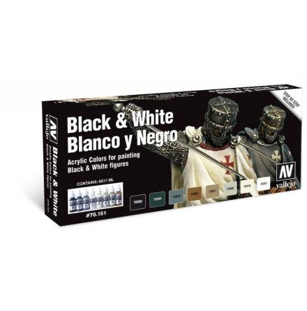 Model Color Set: Black & White