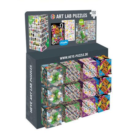 Art Lab 150 pce Triangular, 24 Pz  (4 designs à 6 units)