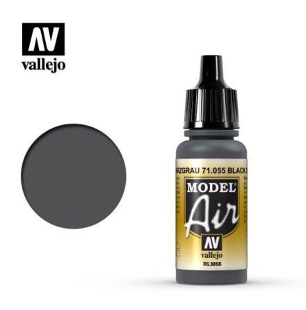 BLACK GREY (VALLEJO MODEL AIR) (6-pack)