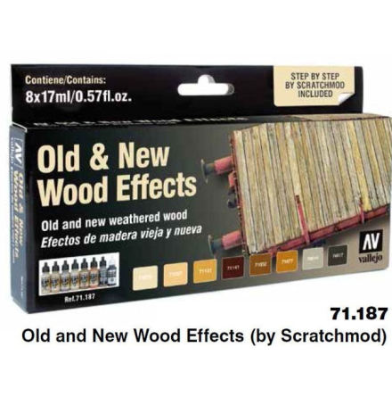 Old and New wood effects (by scratchmod)