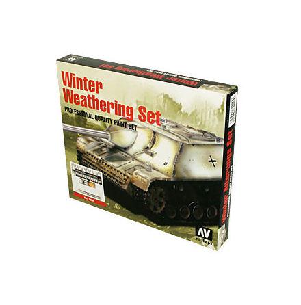 Model Color Set: Winter weathering set