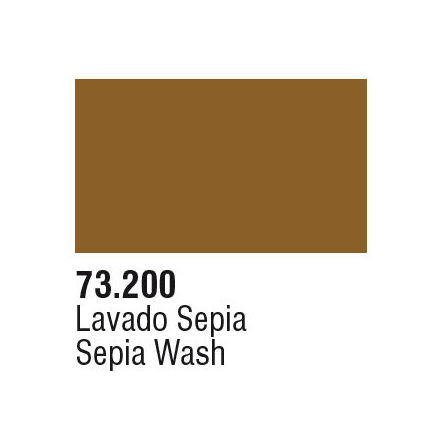 SEPIA WASH (VALLEJO GAME COLOR) (6-pack)