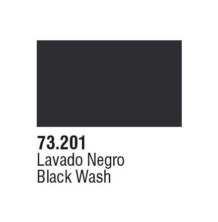 BLACK WASH (VALLEJO GAME COLOR) (6-pack)