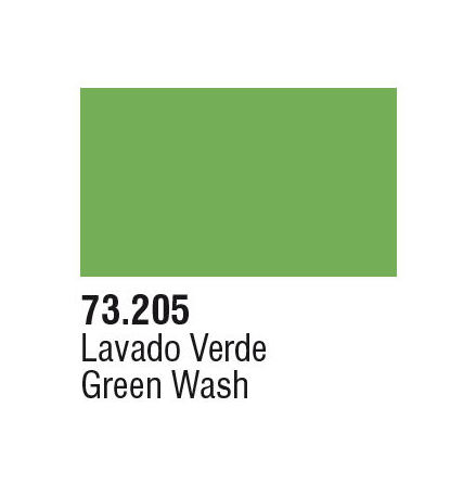 GREEN WASH (VALLEJO GAME COLOR) (6-pack)