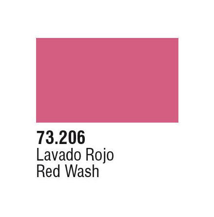 RED WASH (VALLEJO GAME COLOR) (6-pack)