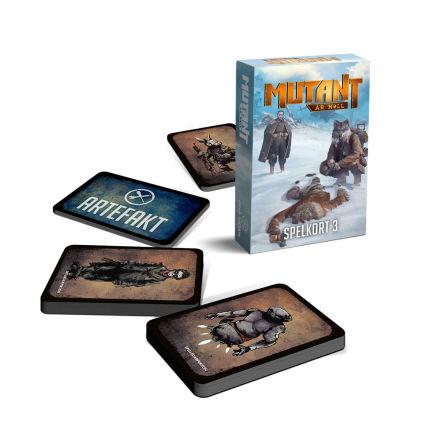 Mutant: År Noll Spelkort Paket 3