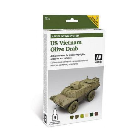 AFV US Vietnam Olive Drab