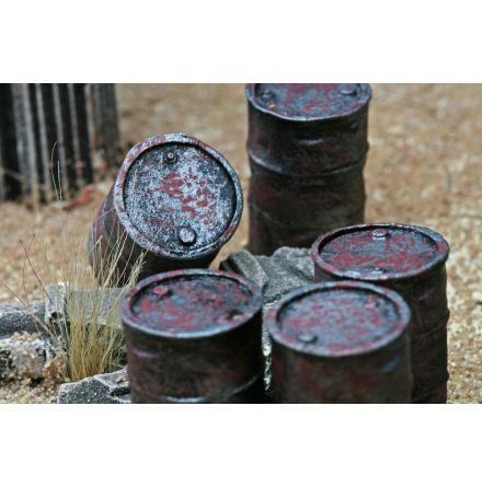 Oil Barrel, 4 pcs.