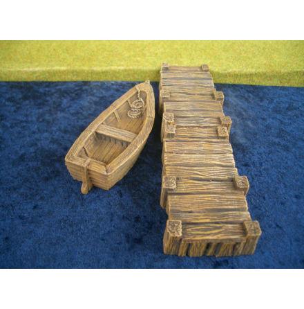Boat + 1 landing stage