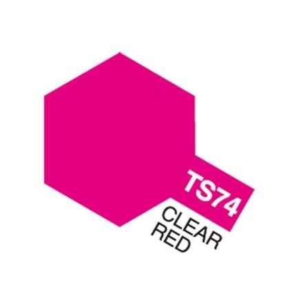 TS-74 CLEAR RED SPRAY 100 ml