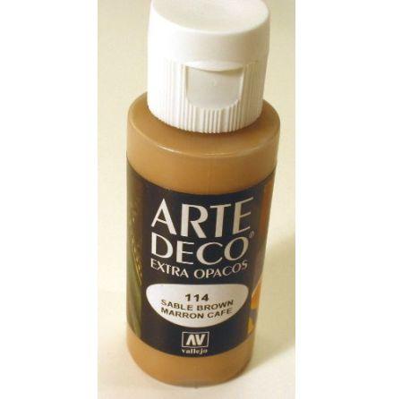 ART DECO 114 60 ml SABLE BROWN (Utgående - 20% rabatt!)