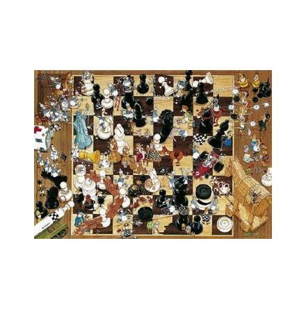 Degano: Black or White (1000 pieces triangular box)