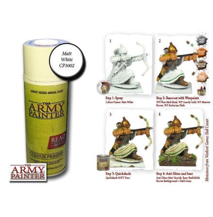 ArmyPainter Base Primer Spray - Matt White