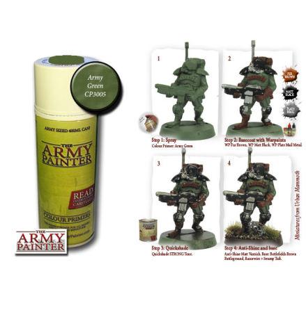 ArmyPainter Colour Primer Spray - Army Green