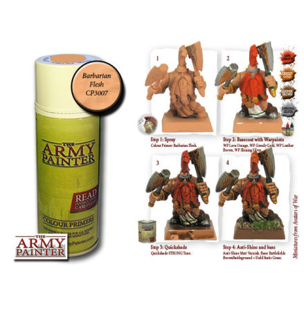 ArmyPainter Colour Primer Spray - Barbarian Flesh
