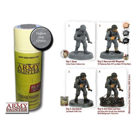 ArmyPainter Colour Primer Spray - Uniform Grey