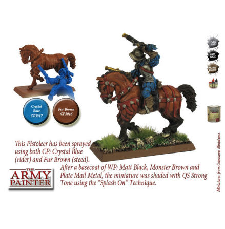 ArmyPainter Colour Primer Spray - Fur Brown