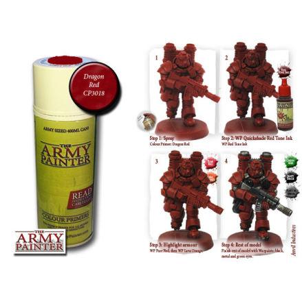 ArmyPainter Colour Primer Spray - Dragon Red