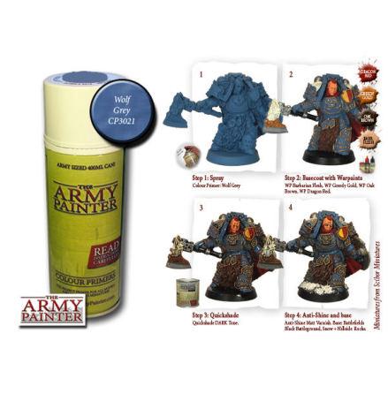 ArmyPainter Colour Primer Spray - Wolf Grey