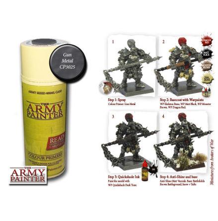 ArmyPainter Colour Primer Spray - Gun Metal