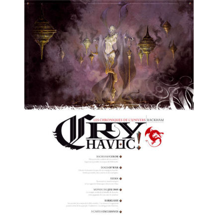 CRY HAVOC 8 (Nytt format!) (20% rabatt/discount!)