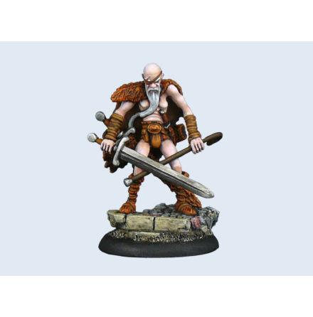 Discworld Miniature Cohen the Barbarian