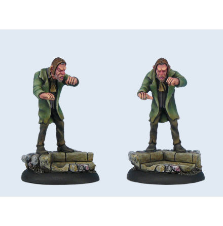 Discworld Miniature Coffin Henry (1)