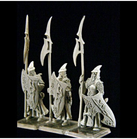 Dark Elf Female Lancers (3)