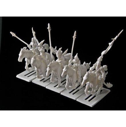 Dark Elf Light Cavalry (5)