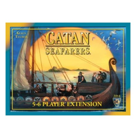 The Settlers of Catan Seafarers 5-6 Player Extension (4th Edition)