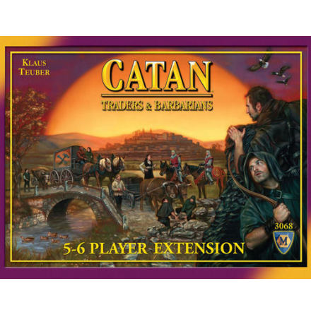 The Settlers of Catan Barbarians & Traders 5-6 Player Extension (4th ed)