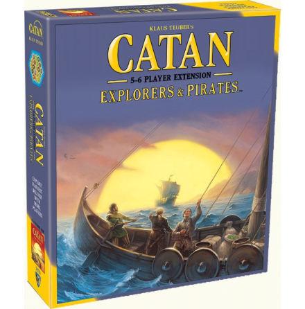 Catan: Explorers & Pirates 5-6 Player Extension (5th ed)