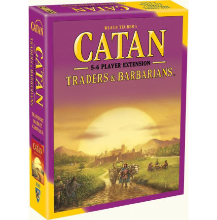 Catan: Traders & Barbarians 5-6 Player Extension (5th ed)