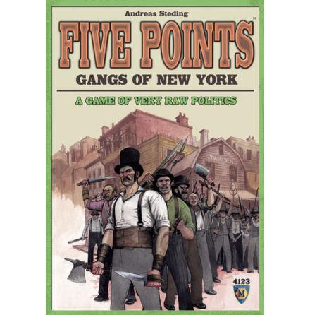 Five Points: Gangs of New York (20% rabatt/discount!)