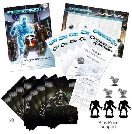 DreadBall Organised Play Kit – Level 2 (8 Players) (självkostnadspris)