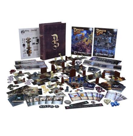 Dungeon Saga: BASIC GAME The Dwarf King´s Quest