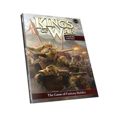 Kings of War 2nd Edition Softback Rulebook (2015)