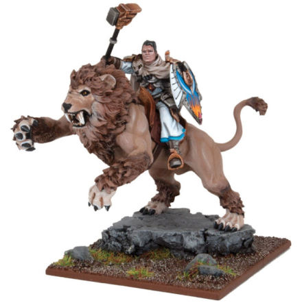 Grand  Master Sallustis riding Nakir