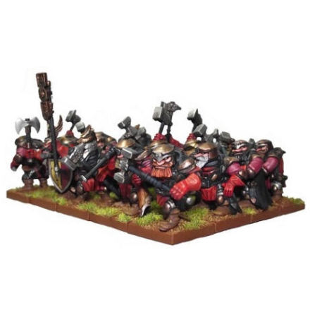 Dwarf Shield Breakers Regiment