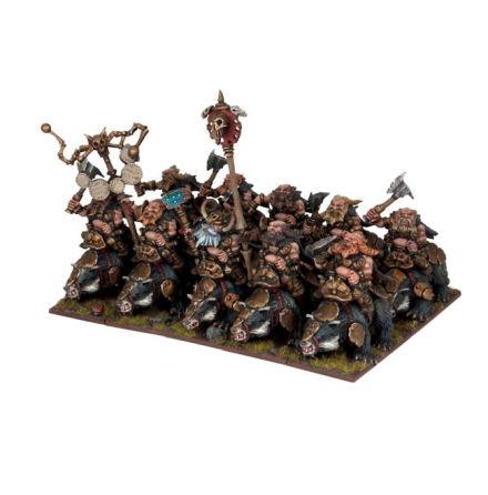 Dwarf Brock Riders Regiment (10)