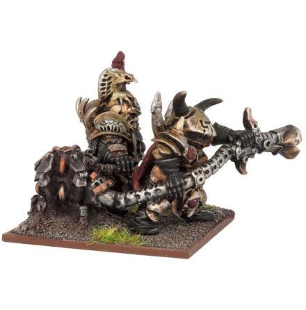 Abyssal Dwarf Dragon Fire Team (3)