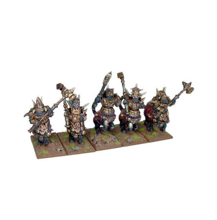 Abyssal Dwarf Half Breed Cavalry
