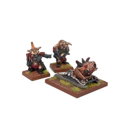 Abyssal Dwarf G'rog Light Mortar (1)
