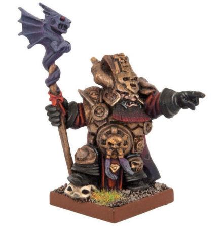 Abyssal Dwarf Ghenna, Keeper of the Black Flame.