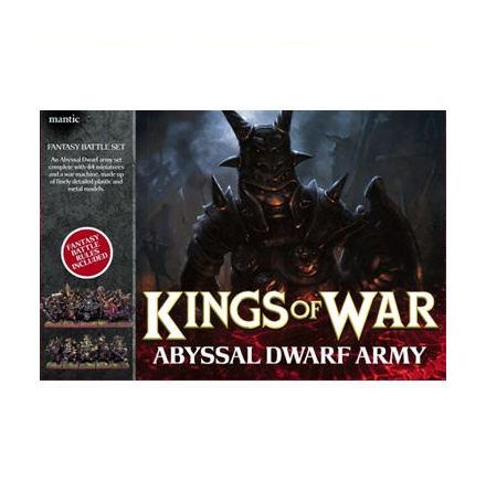 Abyssal Dwarf Army Set (2011)